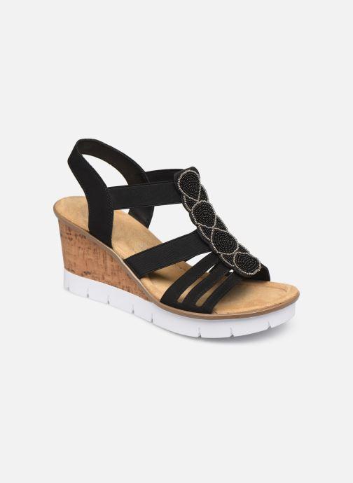 Rieker Maiwen V55D8 (Noir) Sandales et nu pieds chez
