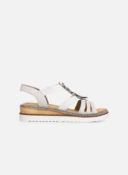 Sandales et nu-pieds Rieker Laora 679L4 Blanc vue derrière