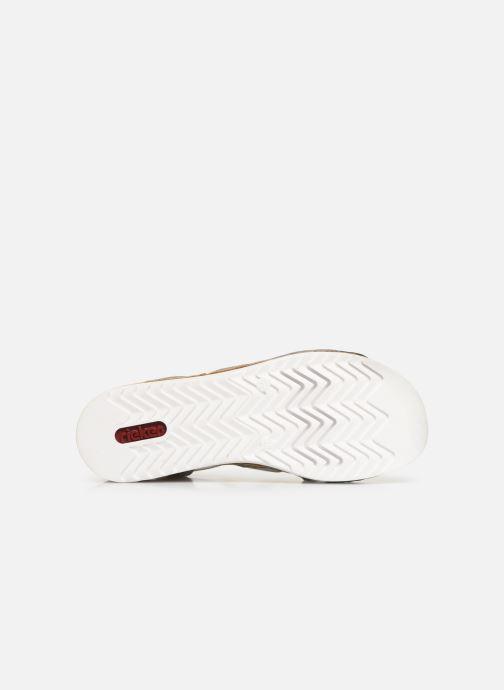Sandales et nu-pieds Rieker Laora 679L4 Blanc vue haut
