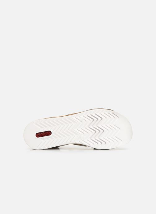 Sandals Rieker Laora 679L4 White view from above