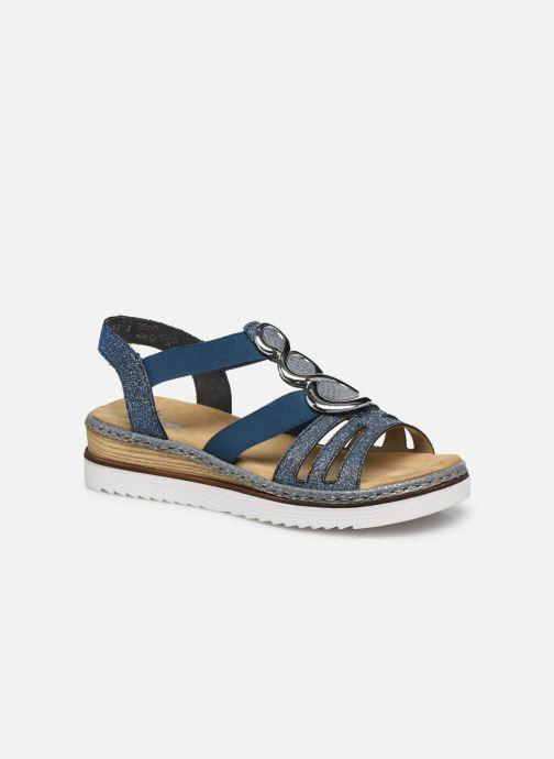 Sandales et nu-pieds Rieker Laora Bleu vue détail/paire