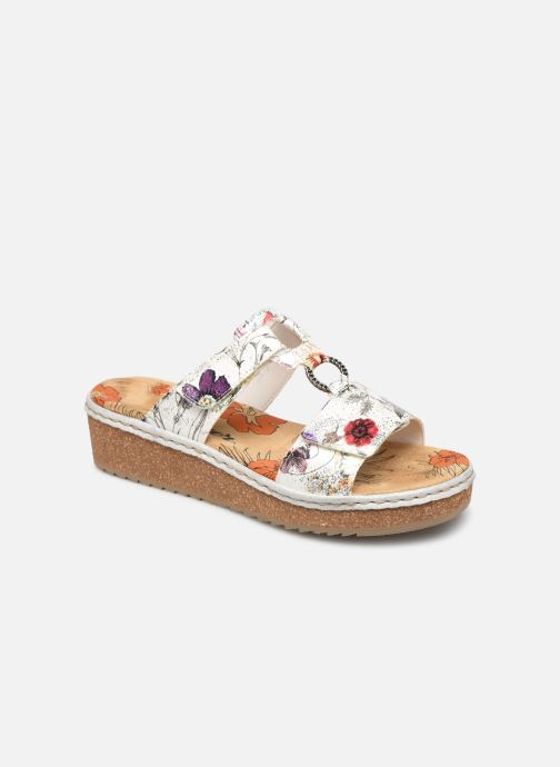 Mules & clogs Rieker Letty V03P9 Multicolor detailed view/ Pair view