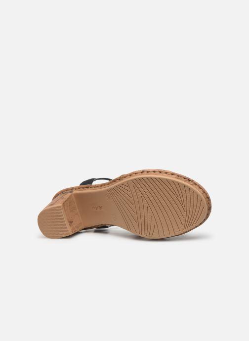 Sandali e scarpe aperte Rieker Mahe V4598 Azzurro immagine dall'alto