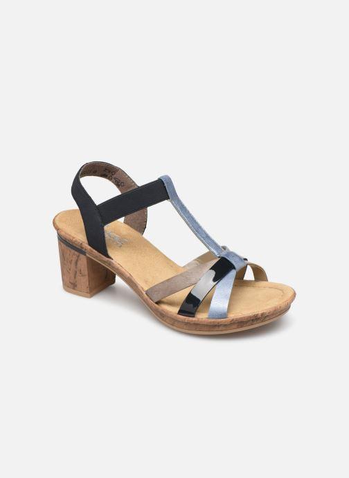 Sandali e scarpe aperte Rieker Mahe V4598 Azzurro vedi dettaglio/paio