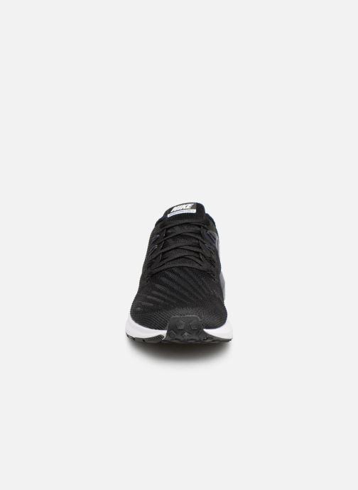 Chaussures de sport Nike Nike Air Zoom Structure 22 Noir vue portées chaussures