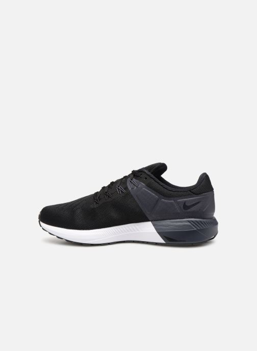 Sport shoes Nike Nike Air Zoom Structure 22 Black front view
