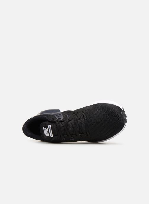 Sport shoes Nike Nike Air Zoom Structure 22 Black view from the left