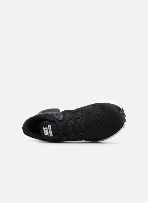 Zapatillas de deporte Nike Nike Air Zoom Structure 22 Negro vista lateral izquierda