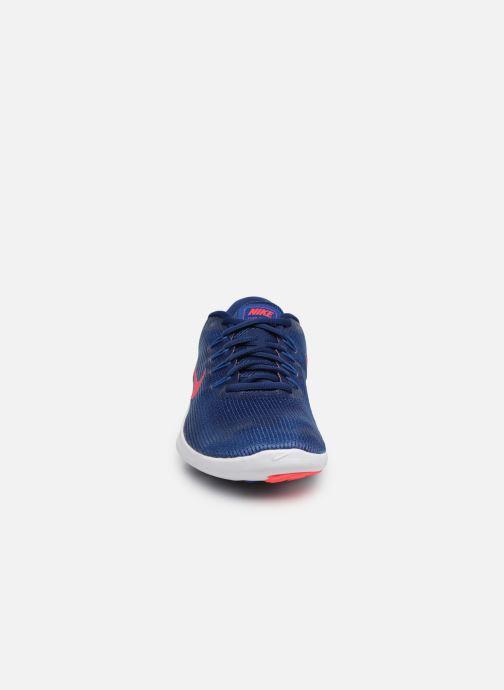 Chaussures de sport Nike Nike Flex 2018 Rn Bleu vue portées chaussures