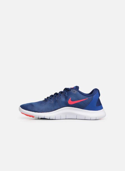 Chaussures de sport Nike Nike Flex 2018 Rn Bleu vue face