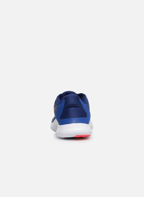 Zapatillas de deporte Nike Nike Flex 2018 Rn Azul vista lateral derecha