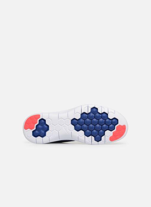 Chaussures de sport Nike Nike Flex 2018 Rn Bleu vue haut