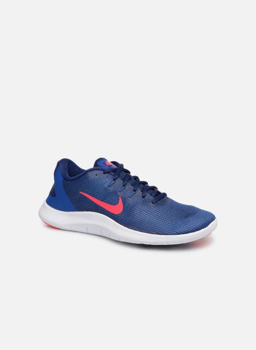 Chaussures de sport Nike Nike Flex 2018 Rn Bleu vue détail/paire