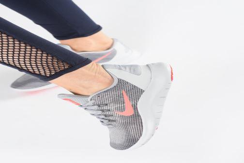 Zapatillas de deporte Nike Wmns Nike Flex 2018 Rn Gris vista de abajo