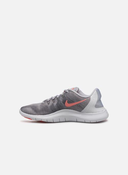 Zapatillas de deporte Nike Wmns Nike Flex 2018 Rn Gris vista de frente