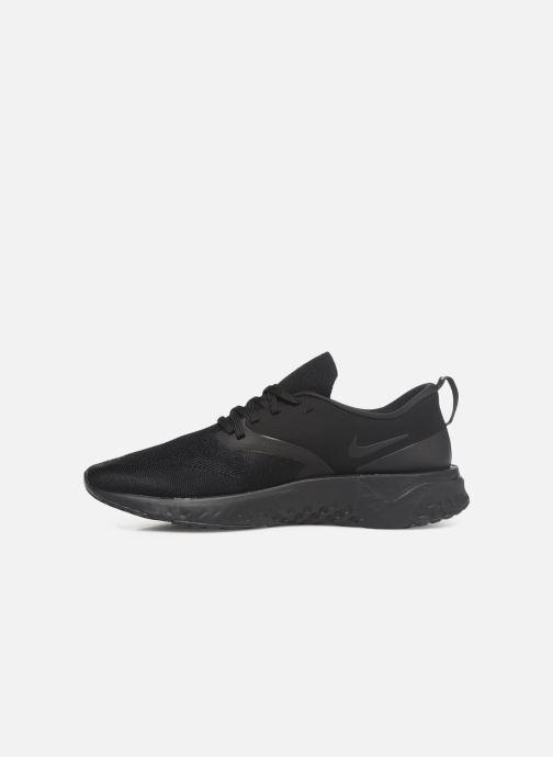 Zapatillas de deporte Nike Nike Odyssey React 2 Flyknit Negro vista de frente