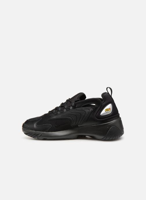 Sneaker Nike Nike Zoom 2K schwarz ansicht von vorne