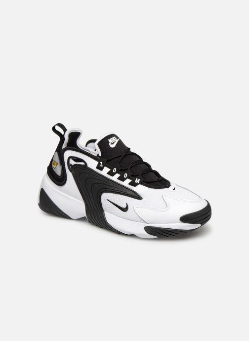 cheaper b9332 5dfcf Baskets Nike Nike Zoom 2K Blanc vue détail paire
