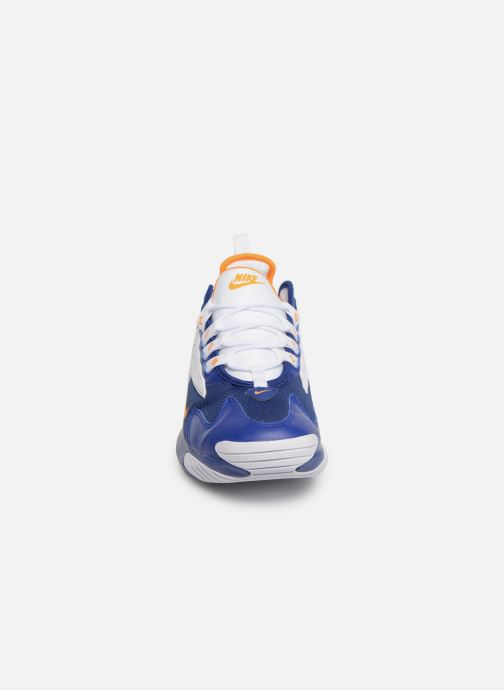 Sneaker Nike Nike Zoom 2K blau schuhe getragen