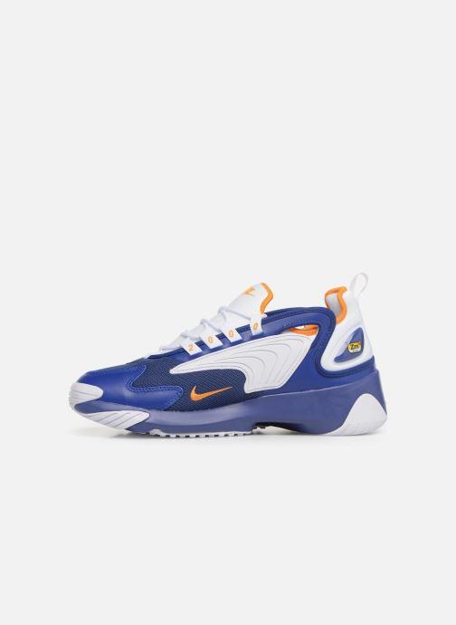 Sneaker Nike Nike Zoom 2K blau ansicht von vorne