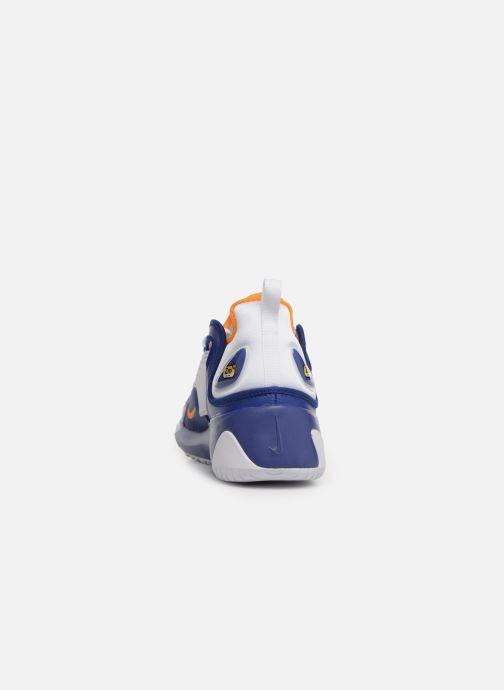 new product 9b19a d22fe Baskets Nike Nike Zoom 2K Bleu vue droite