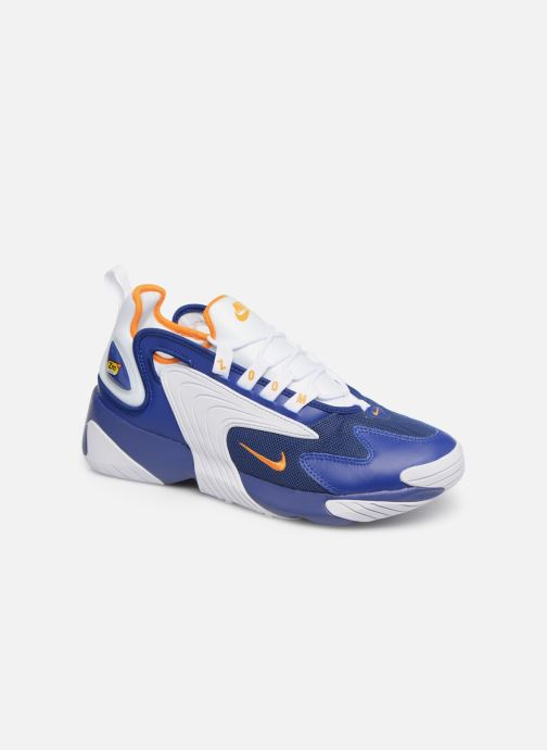 huge selection of 4df73 6e51a Baskets Nike Nike Zoom 2K Bleu vue détail paire