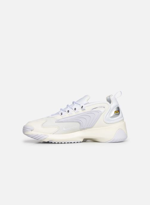 Deportivas Nike Nike Zoom 2K Blanco vista de frente