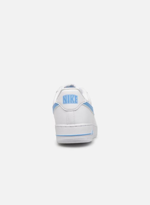 Deportivas Nike Air Force 1 '07 3 Blanco vista lateral derecha