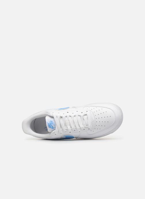 Deportivas Nike Air Force 1 '07 3 Blanco vista lateral izquierda
