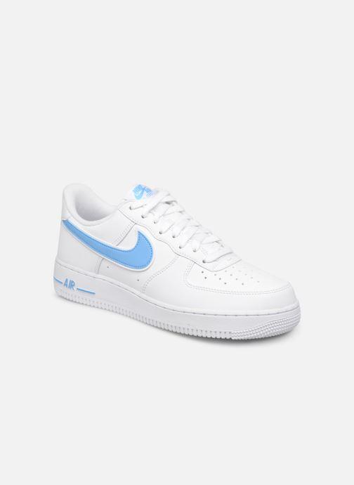Sneakers Nike Air Force 1 '07 3 Hvid detaljeret billede af skoene