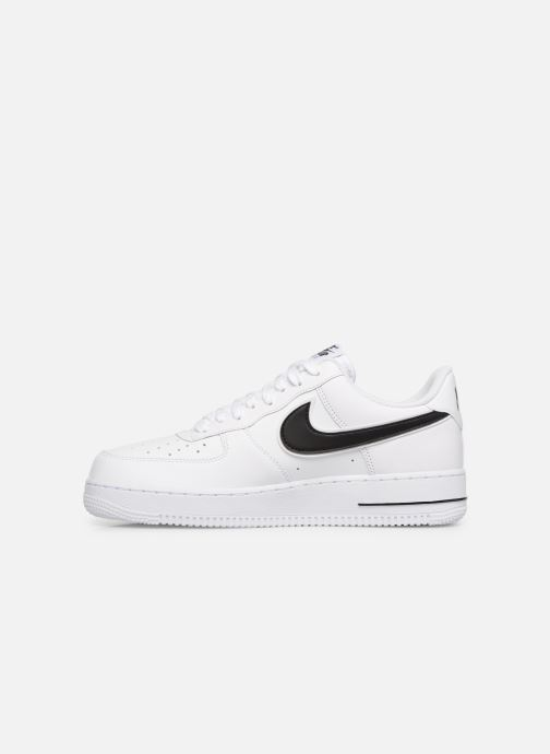Sneaker Nike Air Force 1 '07 3 weiß ansicht von vorne