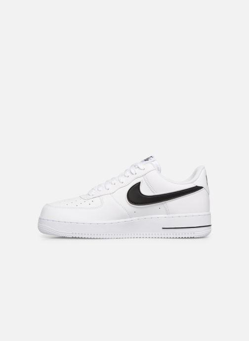 Sneakers Nike Air Force 1 '07 3 Wit voorkant
