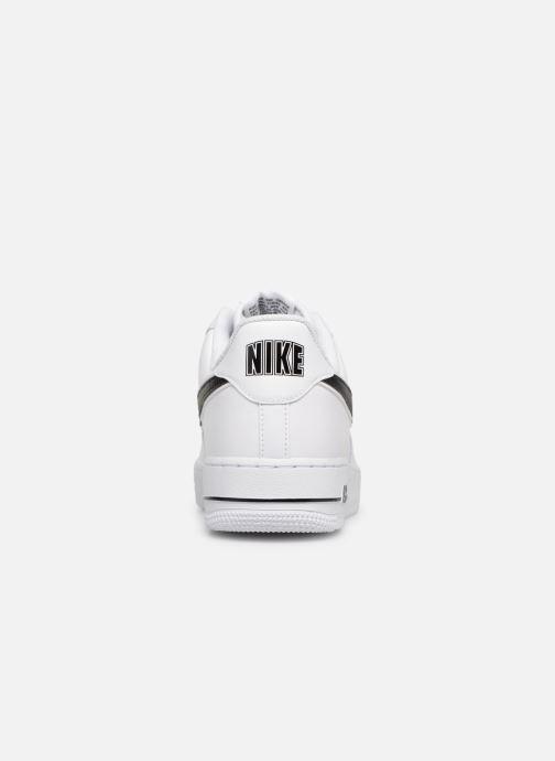 Sneakers Nike Air Force 1 '07 3 Vit Bild från höger sidan
