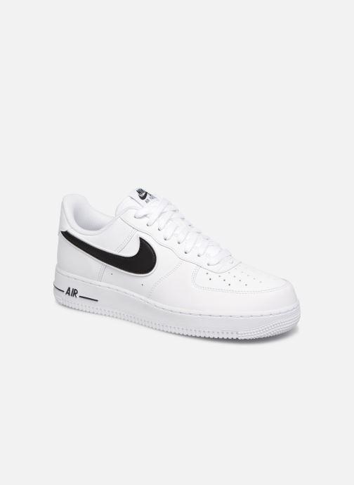 Deportivas Nike Air Force 1 '07 3 Blanco vista de detalle / par