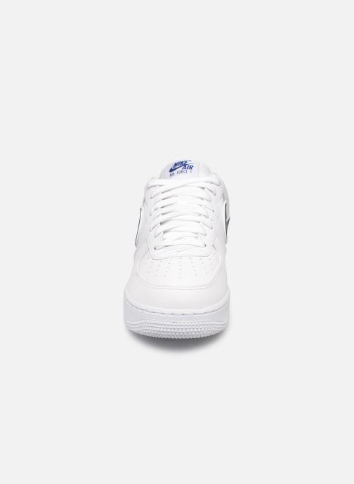Baskets Nike Air Force 1 '07 3 Blanc vue portées chaussures