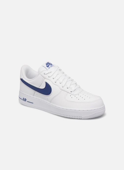 Baskets Nike Air Force 1 '07 3 Blanc vue détail/paire