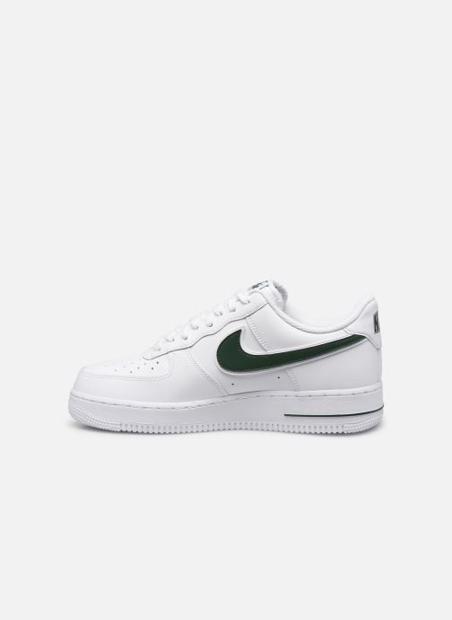 Sneakers Nike Air Force 1 '07 3 Wit voorkant