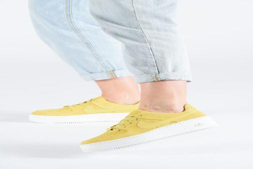 Sneakers Nike W Af1 Sage Low Gul bild från under
