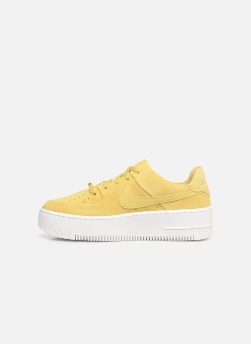 Sneakers Nike W Af1 Sage Low Gul bild från framsidan