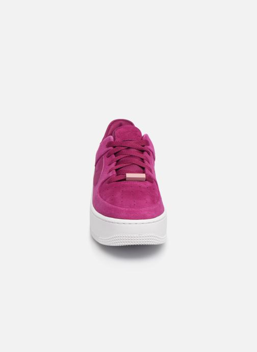Trainers Nike W Af1 Sage Low Pink model view