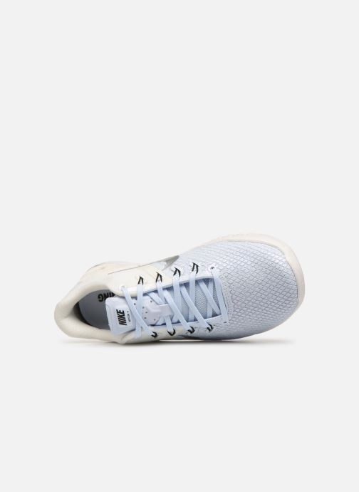 Zapatillas de deporte Nike Wmns Nike Metcon 4 Xd Mtlc Azul vista lateral izquierda