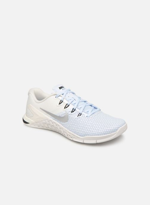 Sport shoes Nike Wmns Nike Metcon 4 Xd Mtlc Blue detailed view/ Pair view
