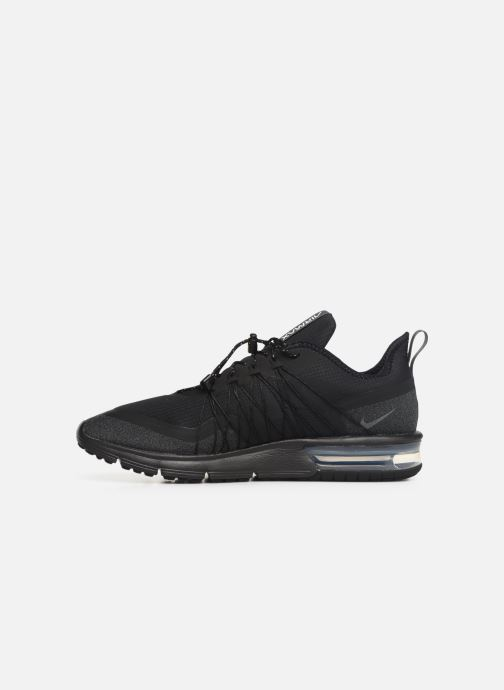 Trainers Nike Air Max Sequent 4 Utility Black front view