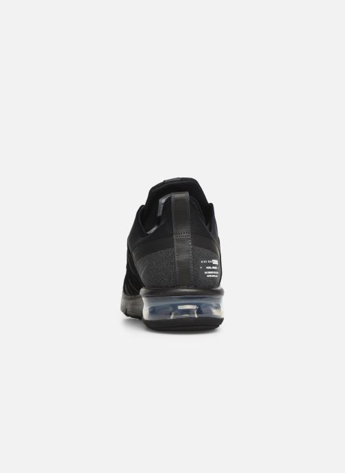 Sneaker Nike Air Max Sequent 4 Utility schwarz ansicht von rechts