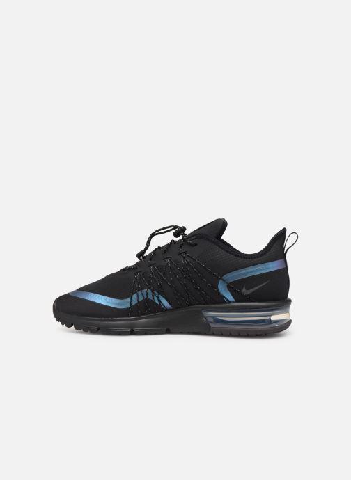 Sneaker Nike Air Max Sequent 4 Utility schwarz ansicht von vorne