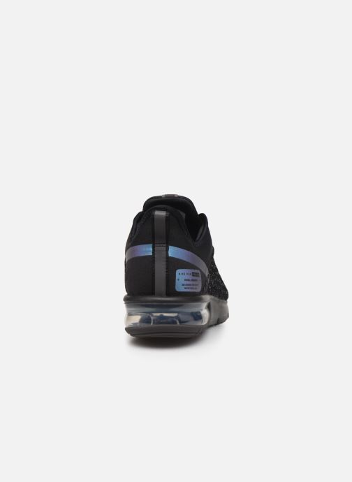 Trainers Nike Air Max Sequent 4 Utility Black view from the right