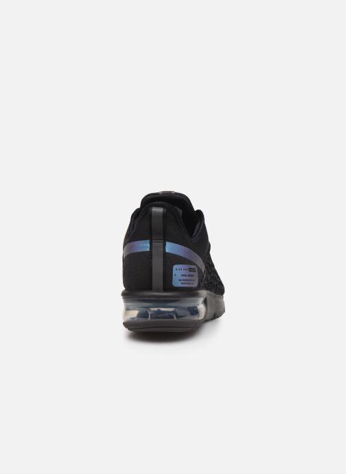 Deportivas Nike Air Max Sequent 4 Utility Negro vista lateral derecha