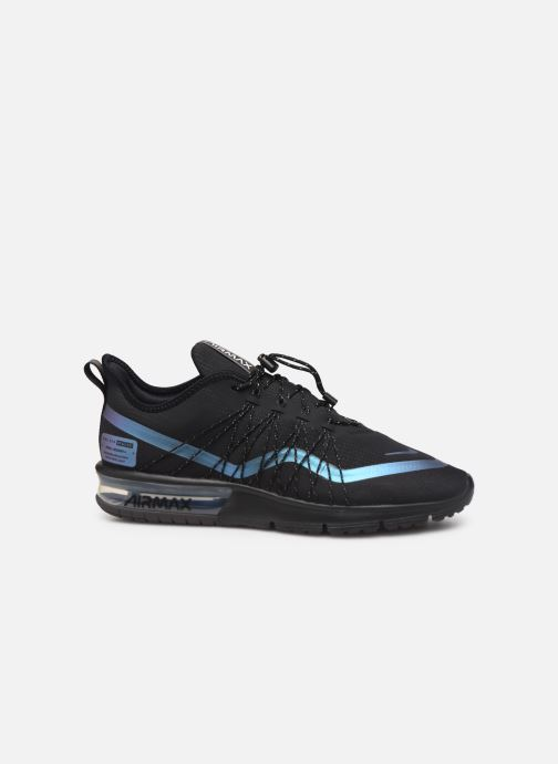 Sneakers Nike Air Max Sequent 4 Utility Zwart achterkant