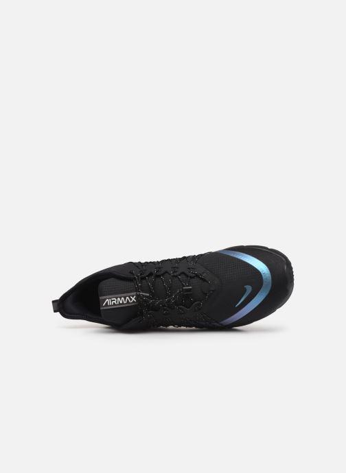 Sneaker Nike Air Max Sequent 4 Utility schwarz ansicht von links