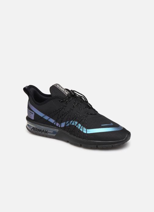 Sneaker Nike Air Max Sequent 4 Utility schwarz detaillierte ansicht/modell